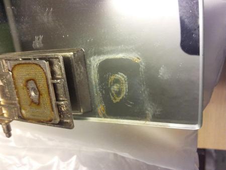 spiegelglas mit metall kleben scharnier spiegelschrank auf spiegelglas glasseite. Black Bedroom Furniture Sets. Home Design Ideas