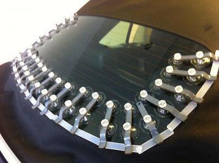 autoglas windschutzscheibe mit textilstoff kleben cabrio. Black Bedroom Furniture Sets. Home Design Ideas