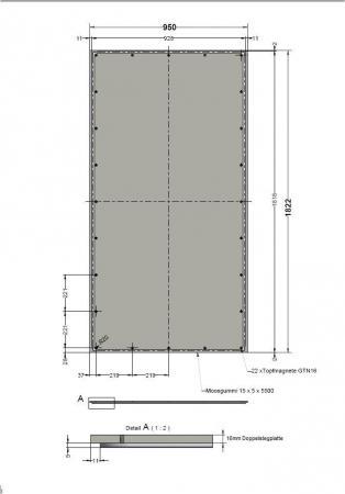 moosgummi mit acrylglas kleben hochwasserschott. Black Bedroom Furniture Sets. Home Design Ideas