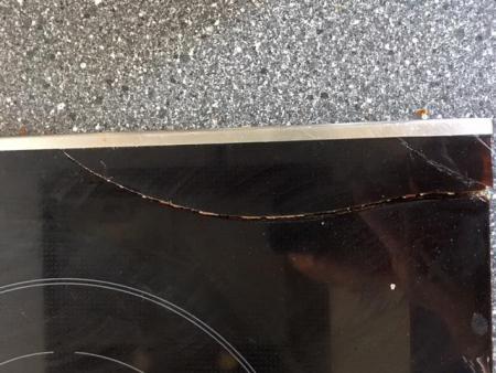 glasplatte eines cerankochfeldes mit cerankochfeld gesprungen kleben eckst ck ist abgebrochen. Black Bedroom Furniture Sets. Home Design Ideas